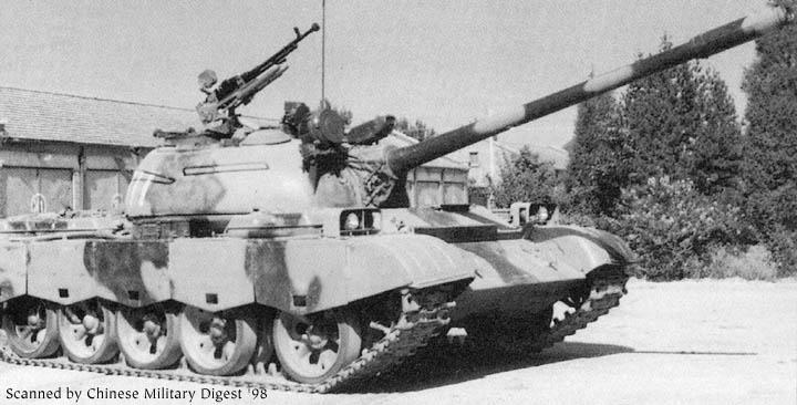 中国69式中型坦克